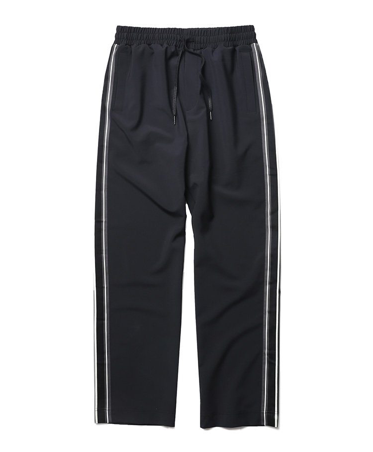 인사일런스(INSILENCE) SIDE TAPE PANTS (black)