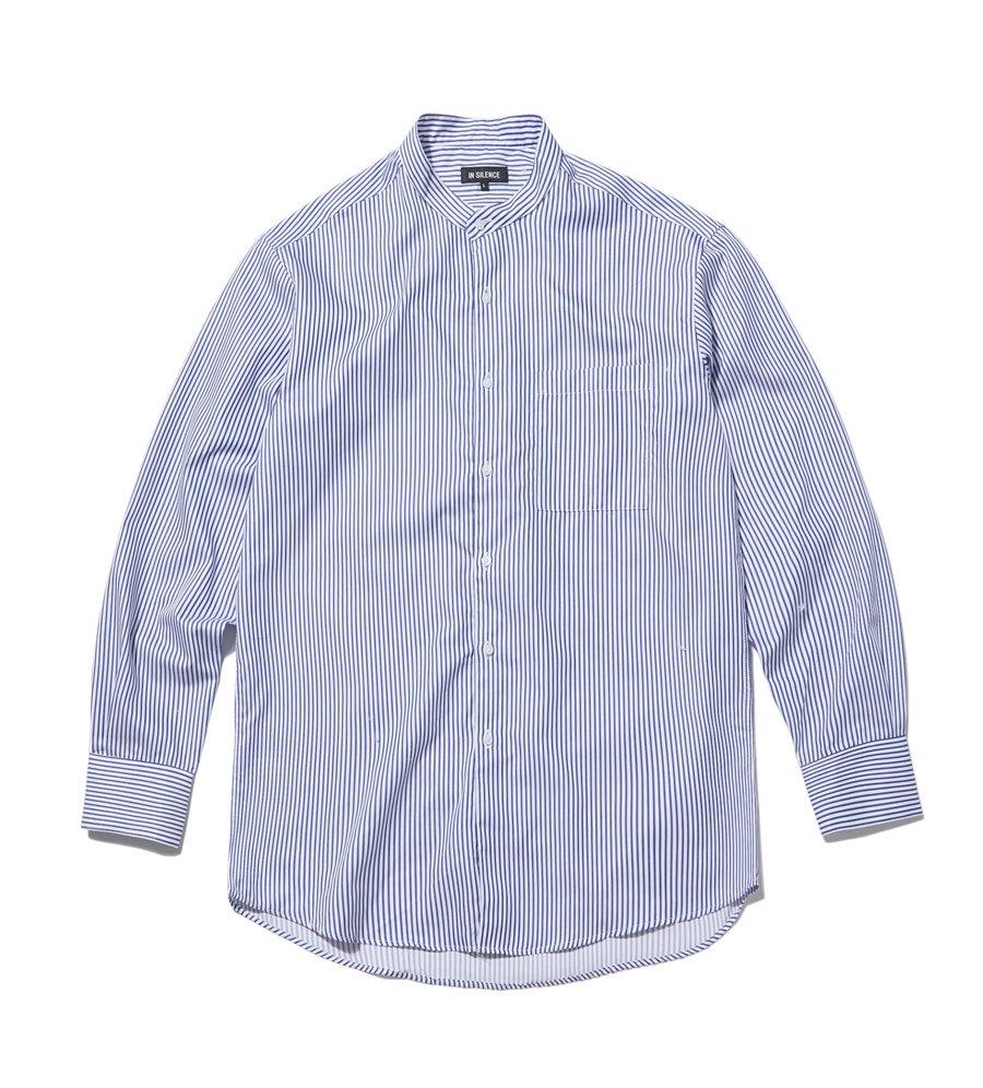 인사일런스(INSILENCE) 오버사이즈 그랜댓 셔츠 STRIPE