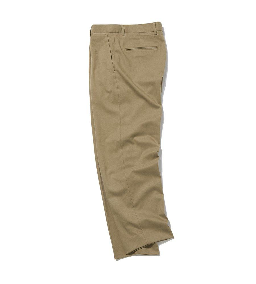 인사일런스(INSILENCE) WIDE SLACKS (beige)