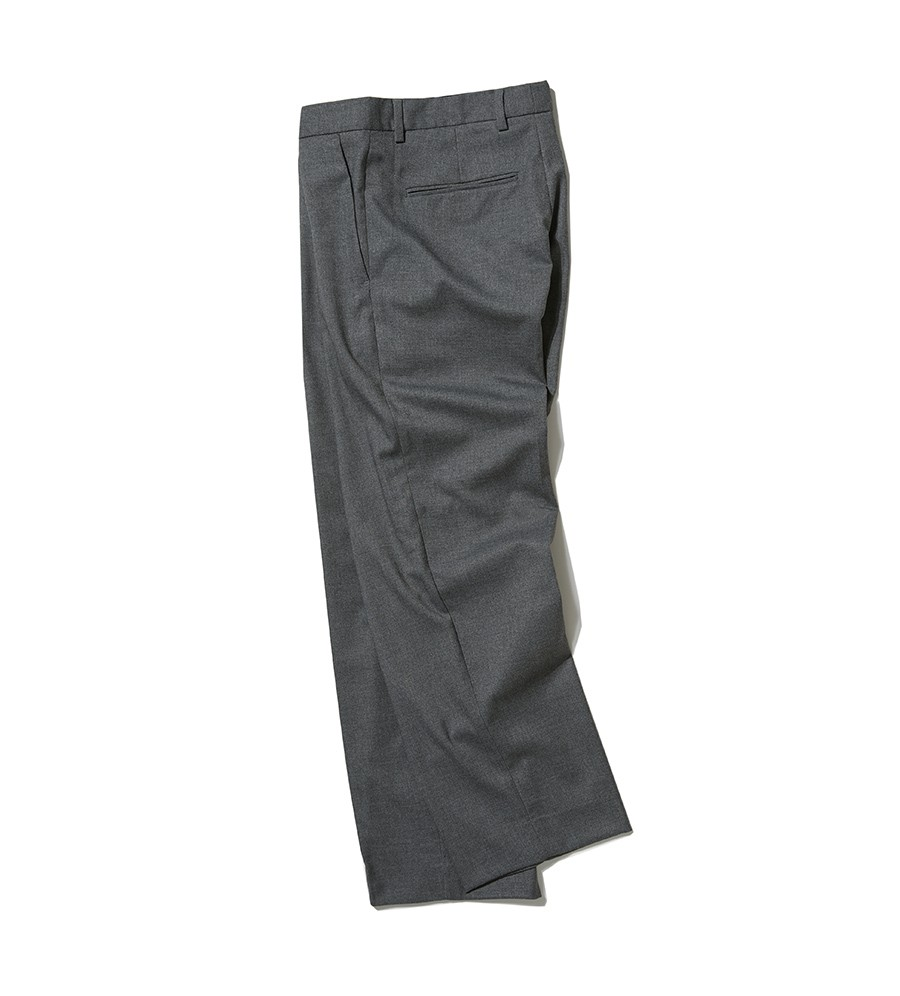 인사일런스(INSILENCE) WIDE SLACKS (grey)