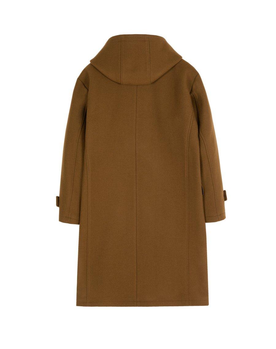 인사일런스(INSILENCE) OVERSIZED DUFFLE COAT (brown)