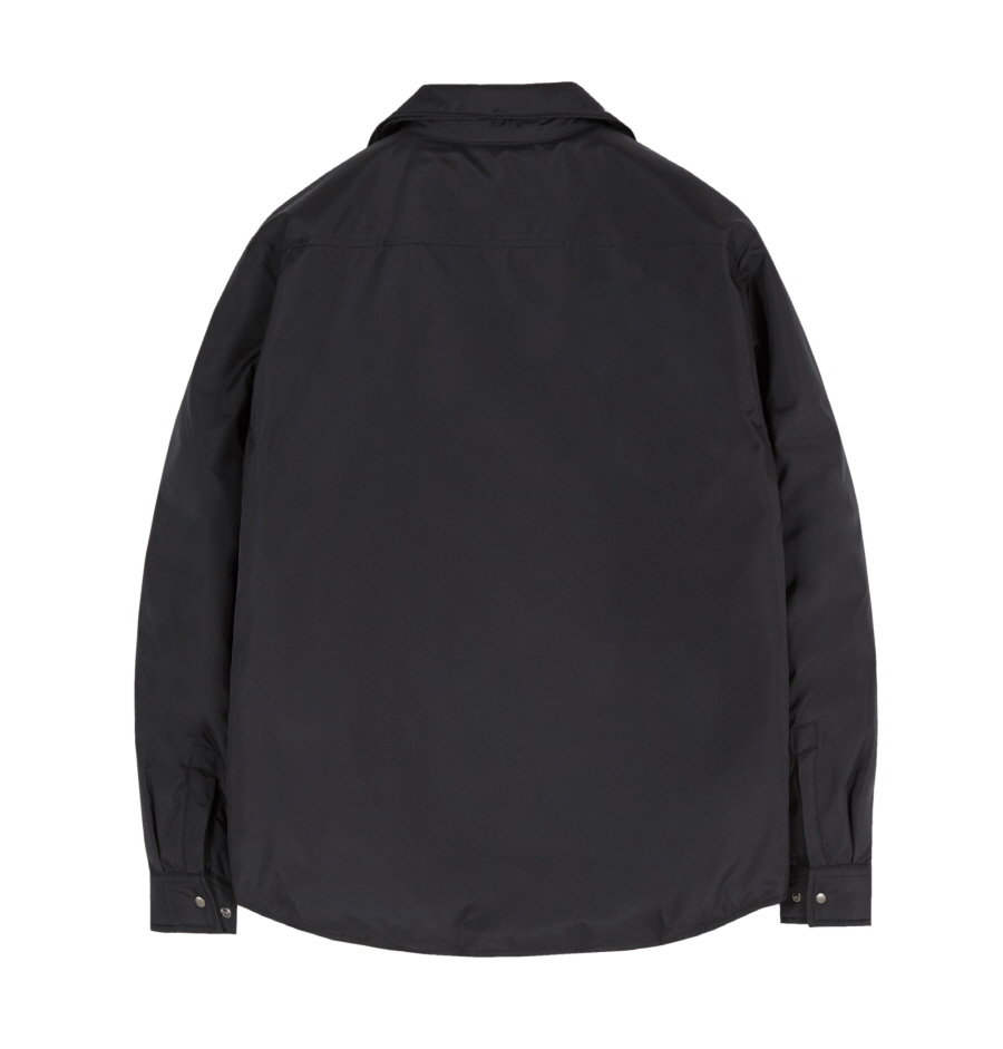 인사일런스(INSILENCE) LIGHT GOOSE DOWN SHIRT (black)