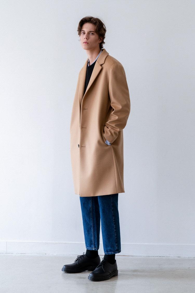 인사일런스(INSILENCE) SOLIST OVERSIZE CASHEMERE COAT (beige)