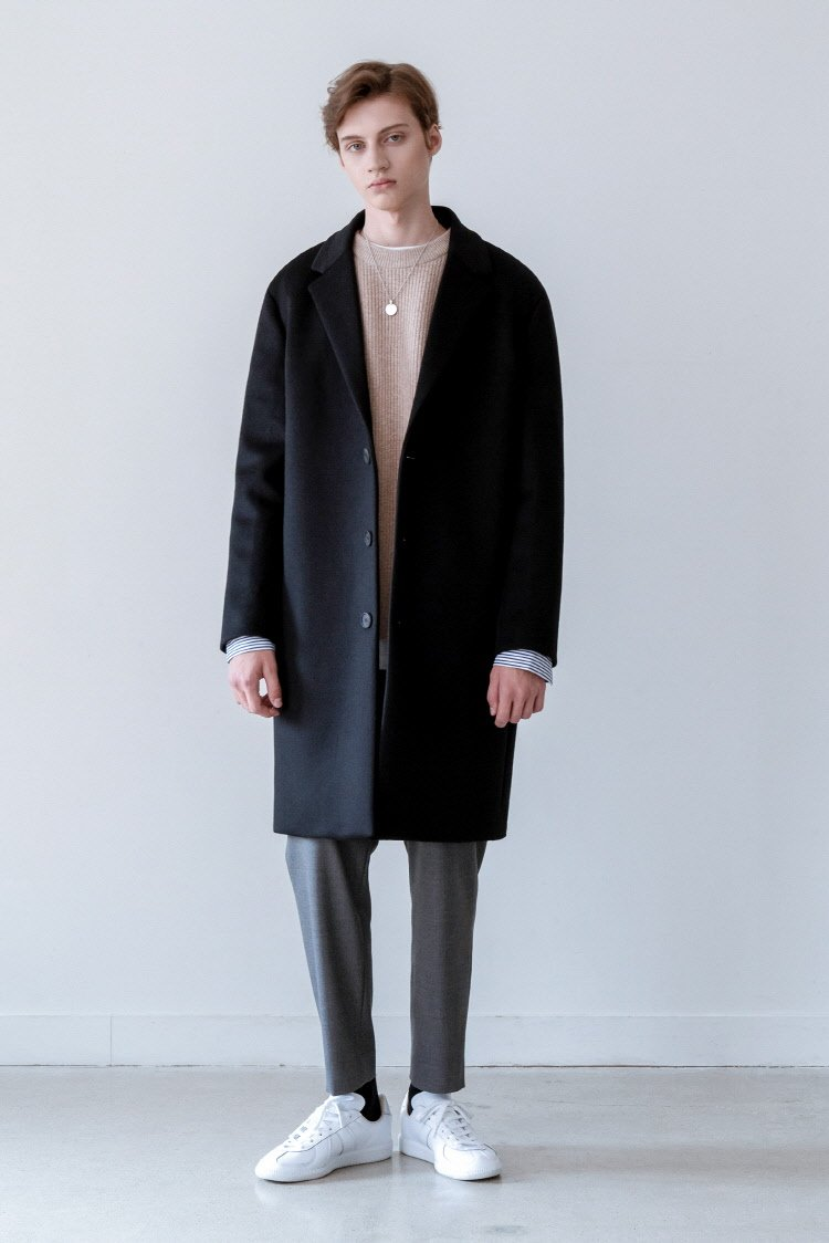 인사일런스(INSILENCE) SOLIST OVERSIZE CASHEMERE COAT (black)