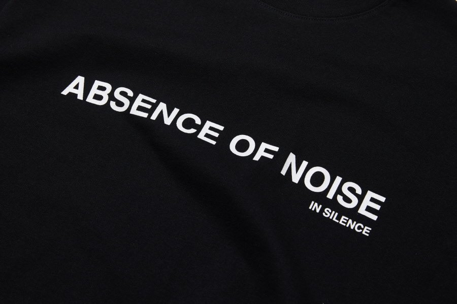 인사일런스(IN SILENCE) AON LOGO TEE (black)