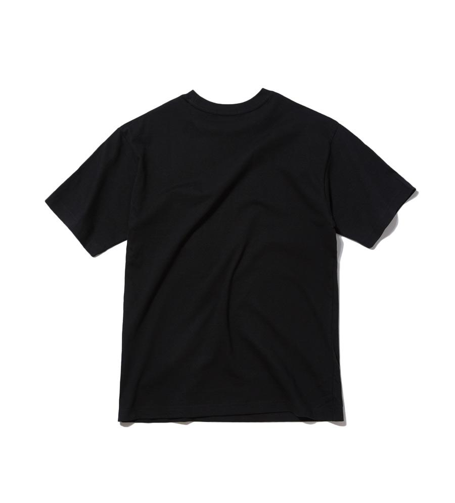 인사일런스(INSILENCE) REVERS LOGO TEE (black)