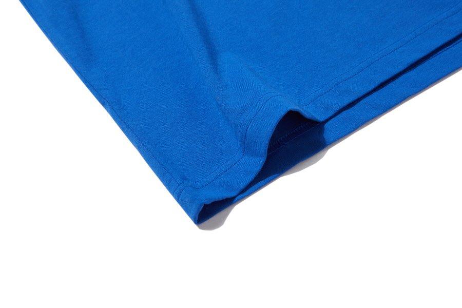인사일런스(IN SILENCE) 리버스 로고 티셔츠 BLUE