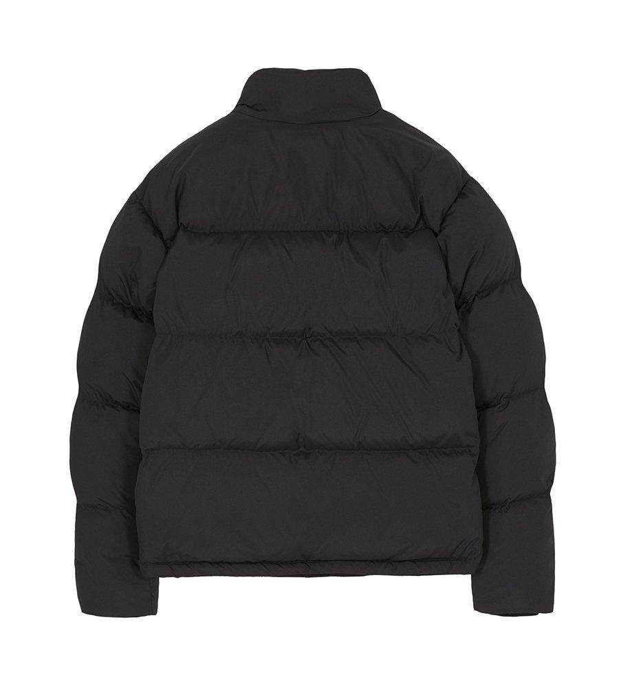 인사일런스(IN SILENCE) 에센셜 다운 자켓 BLACK