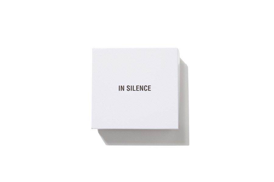 인사일런스(IN SILENCE) 스티치 롱 레더 벨트 BLACK