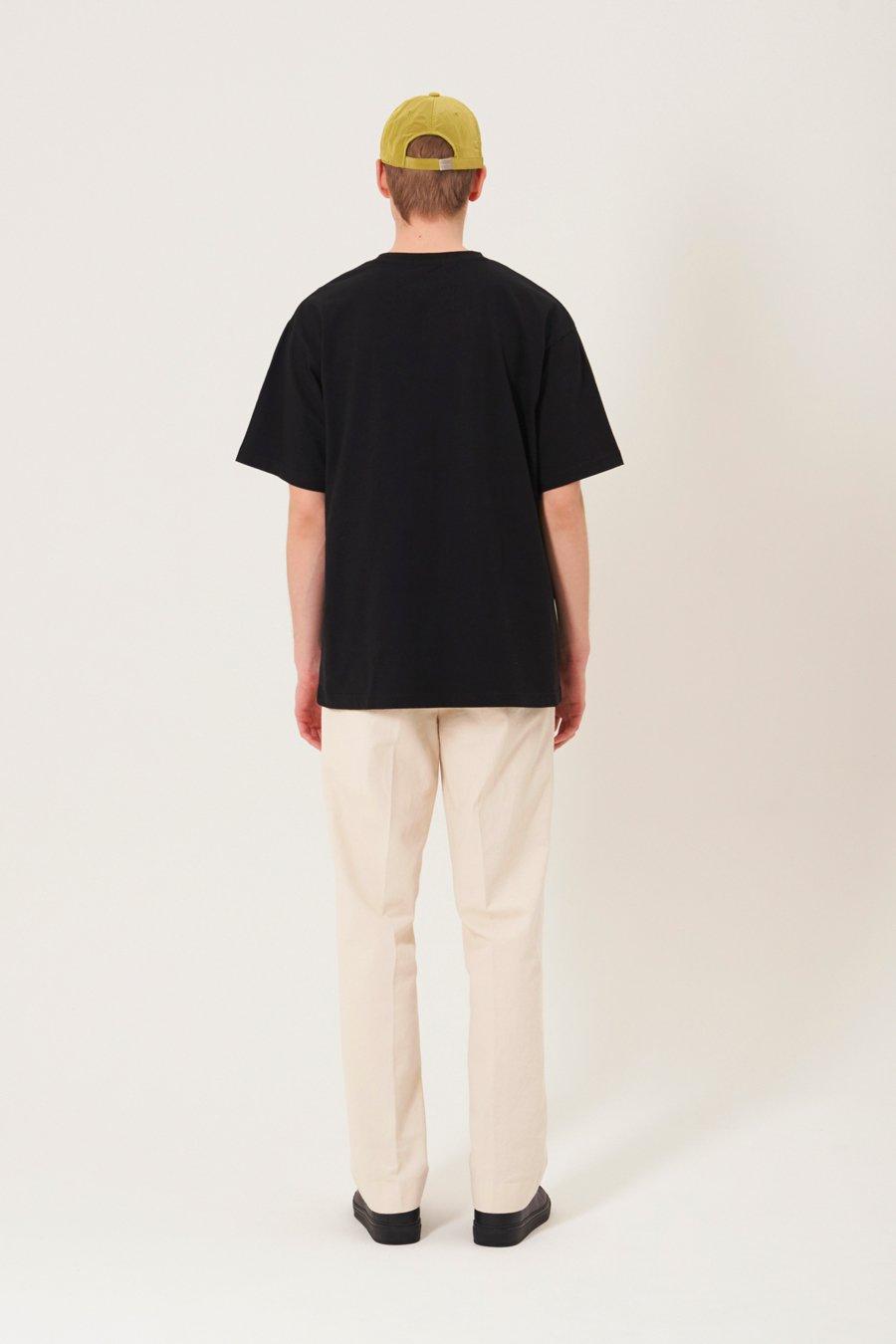 인사일런스(IN SILENCE) 카피라이트 로고 티셔츠 WHITE