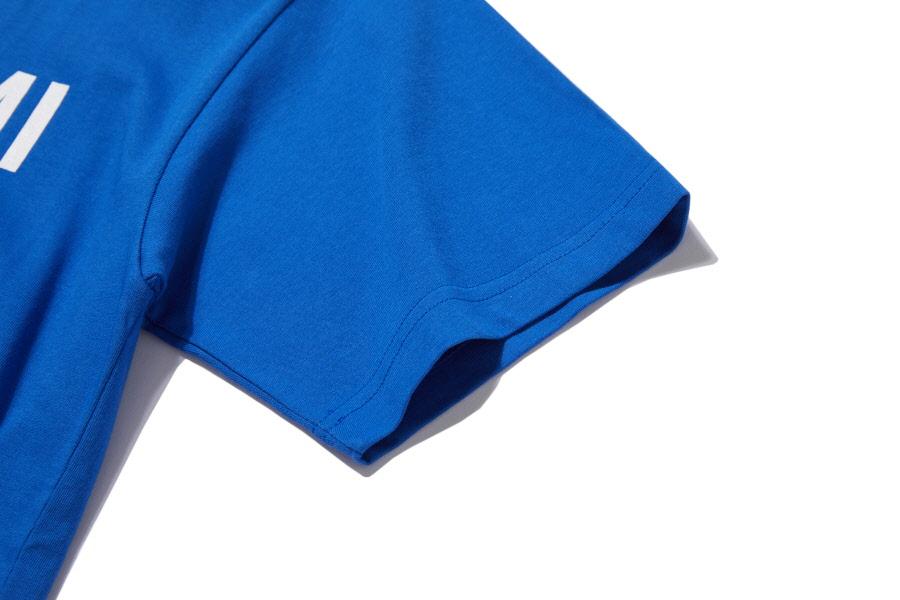 인사일런스(INSILENCE) 리버스 로고 티셔츠 BLUE