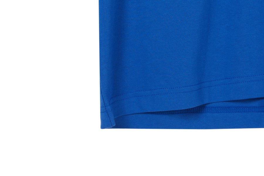 인사일런스(IN SILENCE) 스튜디오 로고 티셔츠 BLUE