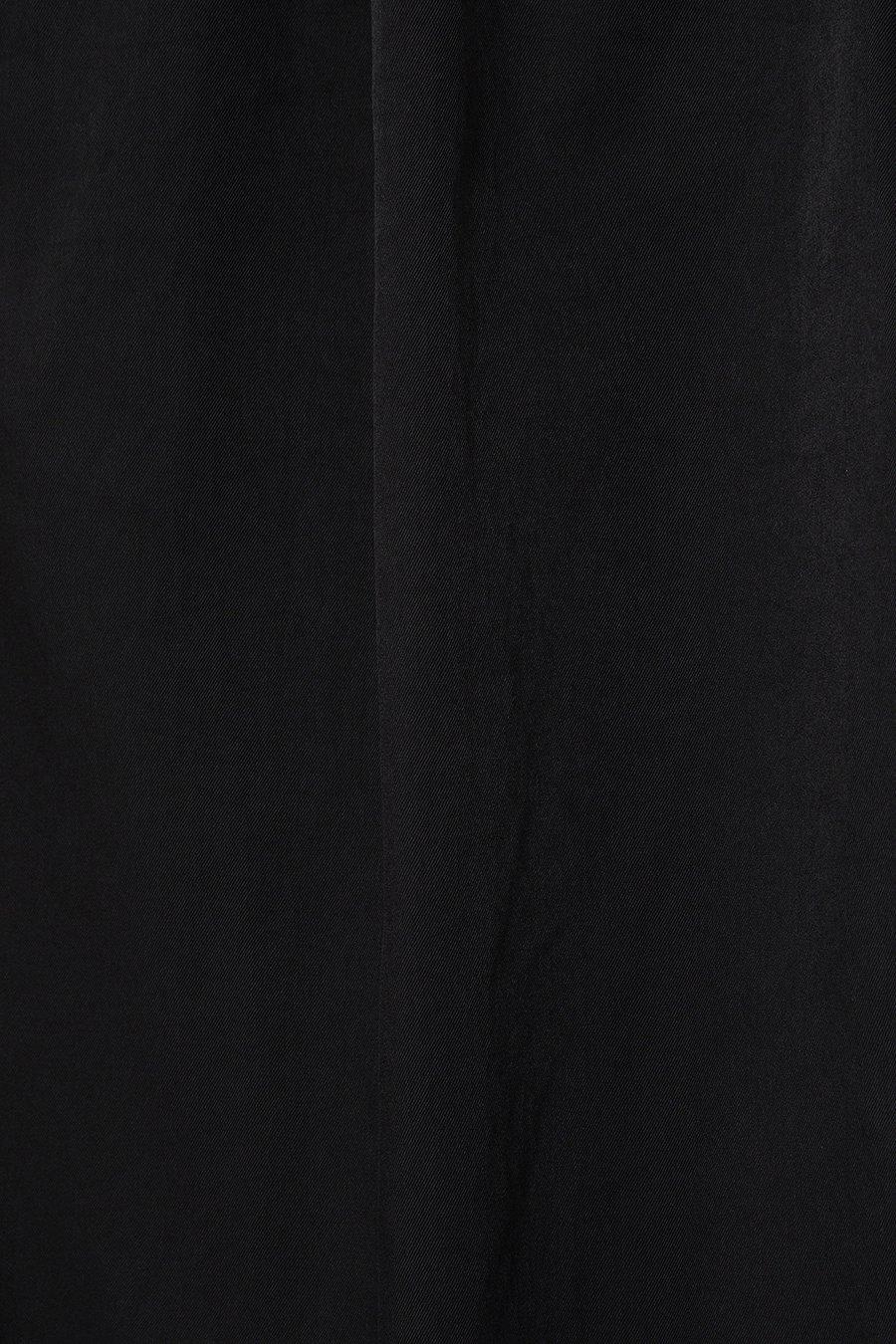 인사일런스(IN SILENCE) 이지 와이드 밴딩 팬츠 BLACK