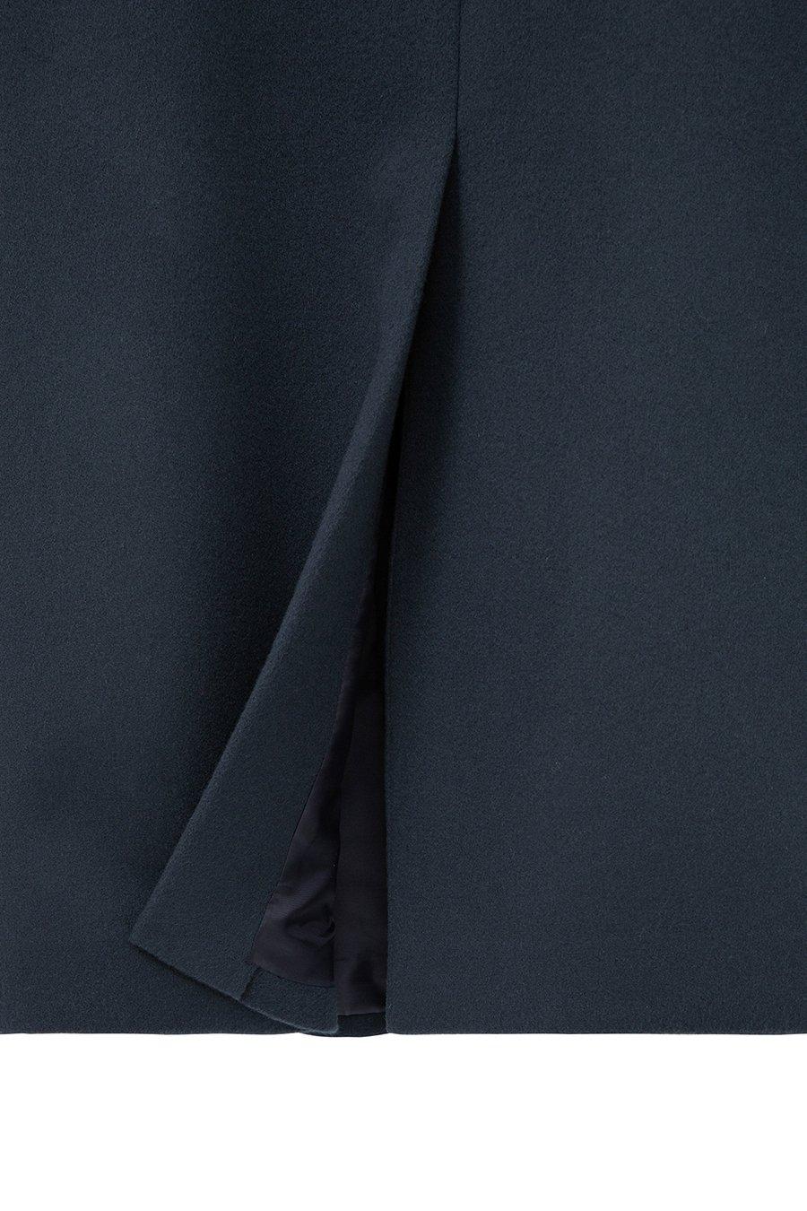 인사일런스(IN SILENCE) [BLACK LABEL] FORTEX 캐시펠트 히든 싱글 코트 TURQUOISE