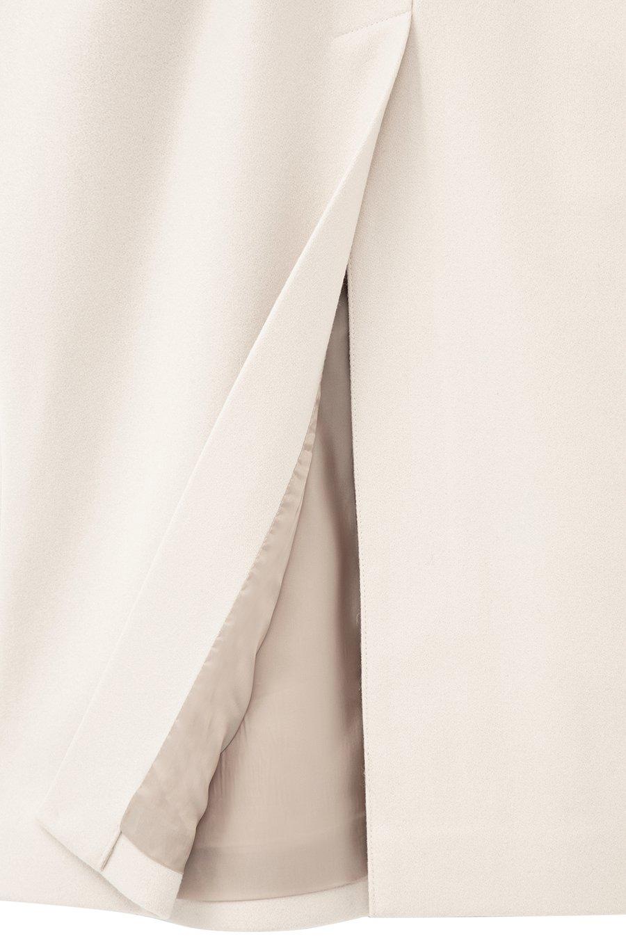 인사일런스(IN SILENCE) [BLACK LABEL] FORTEX 발마칸 로브 코트 CREAM