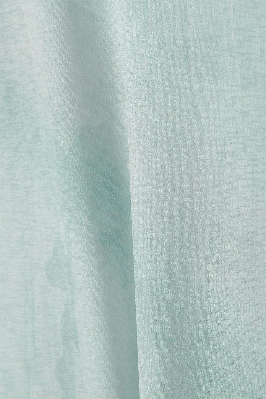 인사일런스 우먼(INSILENCE WOMEN) 그래픽 롱 슬리브 탑 GREEN