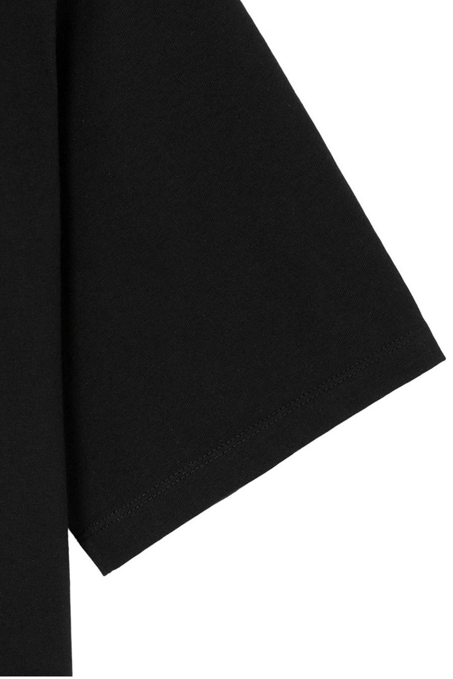 인사일런스(IN SILENCE) 수피마 코튼 프리미엄 티셔츠 BLACK