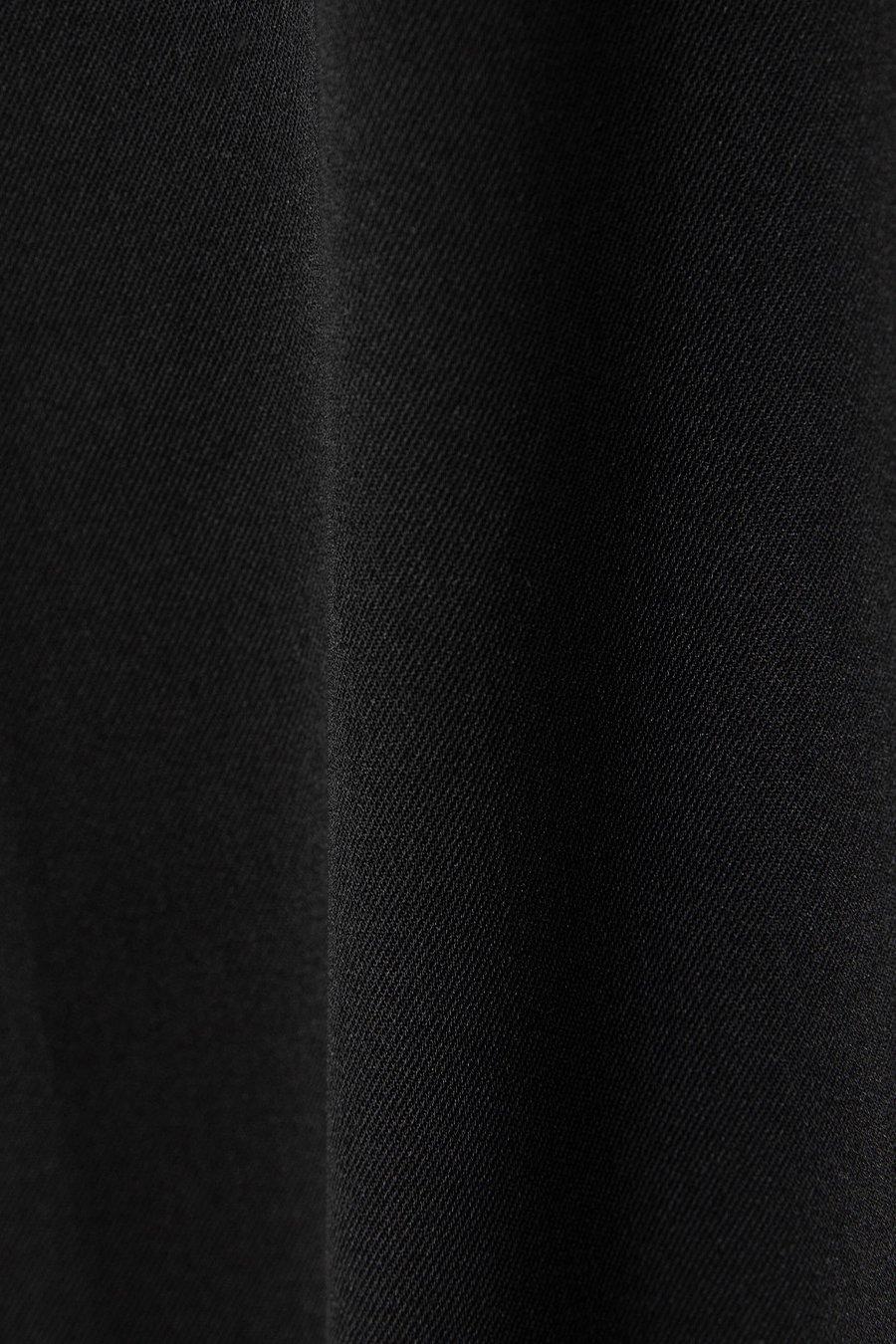 인사일런스 우먼(INSILENCE WOMEN) 와이드 조거팬츠 BLACK