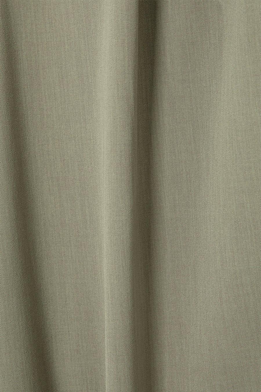 인사일런스 우먼(INSILENCE WOMEN) 버뮤다 와이드 쇼츠 OLIVE