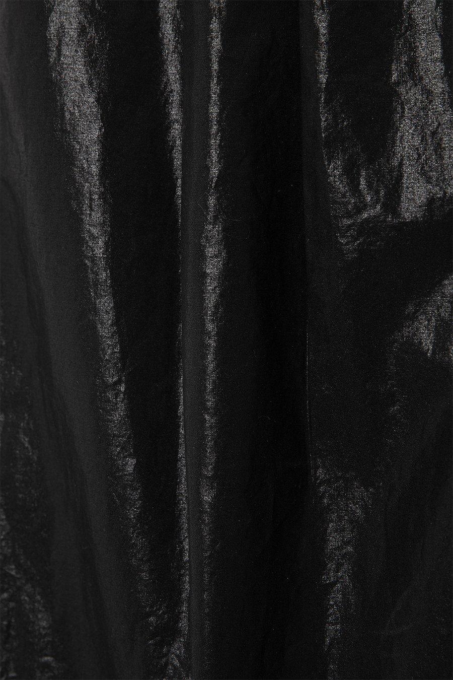 인사일런스 우먼(INSILENCE WOMEN) 버뮤다 와이드 쇼츠 BLACK