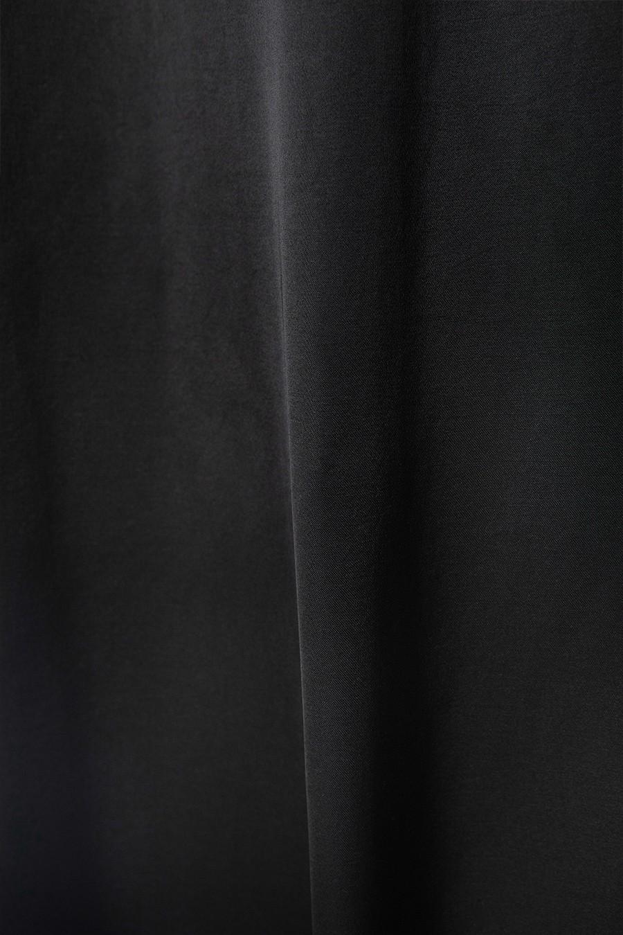 인사일런스 우먼(INSILENCE WOMEN) 어쉬메트릭 맥시 스커트 BLACK